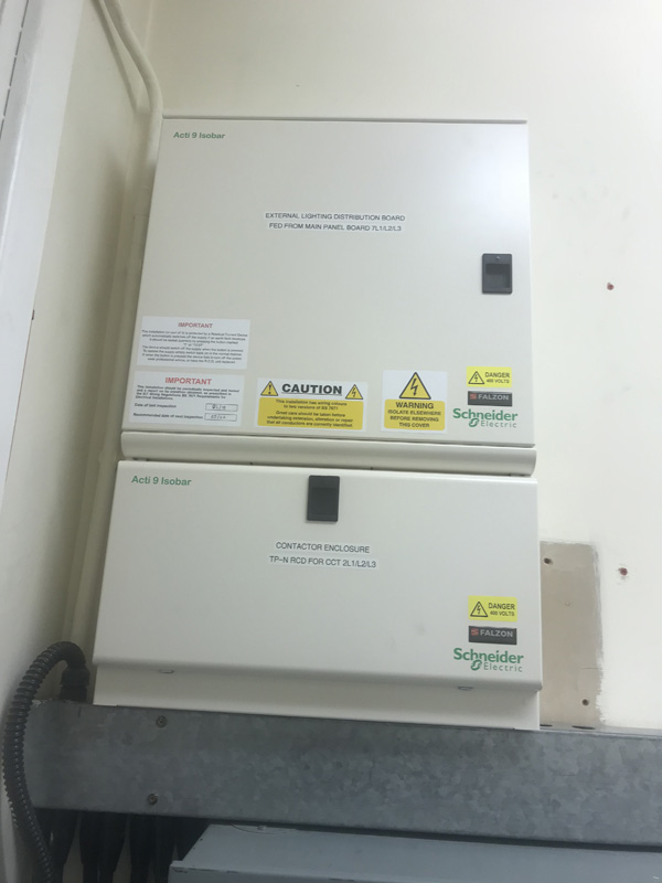 Commercial Distribution Board Essex