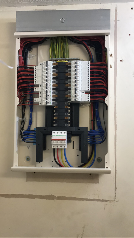 Incredible Commercial Distribution Board London Falzon Electrical Contractors Wiring 101 Cranwise Assnl